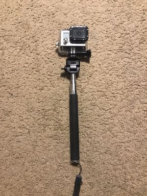GoPro Hero 3 W/ Selfie Stick and Case for Sale in Kaneohe, HI
