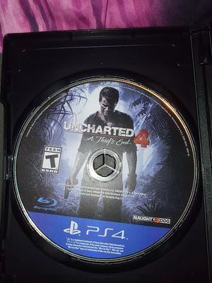 Uncharted 4 for ps4 for Sale in Lake Placid, FL