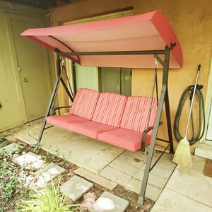 Porch Swing with awning. for Sale in St. Louis, MO