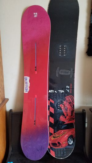 Snowboards and bag for Sale in San Diego, CA