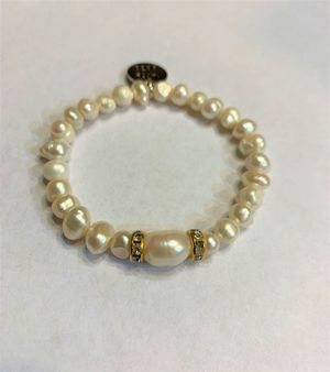 Natural fresh water Pearl Bracelet for Sale in Peoria, IL