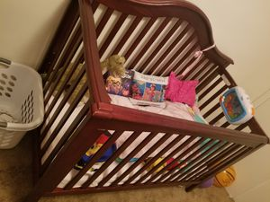 Crib and changing table for Sale in Northwest Plaza, MO