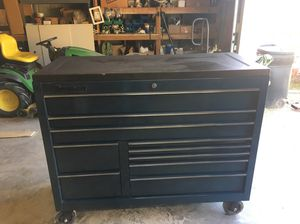 Snap-On SuperSonic Blue 11 Drawer Tool Box for Sale in Chamois, MO