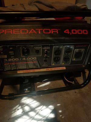 Predator 4000 generator for Sale in Palm Harbor, FL