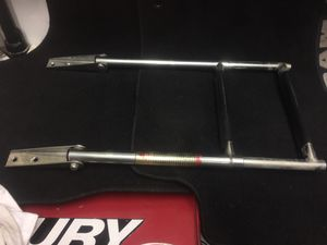 FOLDING STOWAWAY TWO STEP STAINLESS STEEL BOAT LADDER for Sale in Citrus Heights, CA