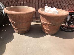 Flower pots for Sale in Riverside, CA