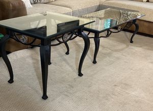 Black furniture coffee table End Table for Sale in Dunwoody, GA