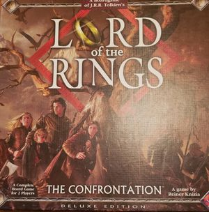Lord of the Rings Confrontation Board Game for Sale in Waterloo, IA