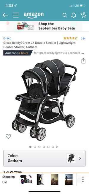Graco ready to grow double stroller for Sale in Nashville, TN