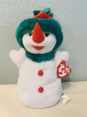 """""""Snowgirl"""" Snowman TY Beanie Baby Tag Retired 2000 - perfect for holidays! for Sale in Austin, TX"""