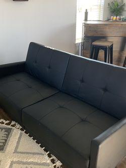Black Futon for Sale in Grayslake,  IL