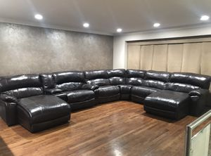 Leather Sectional for Sale in Bellmore, NY