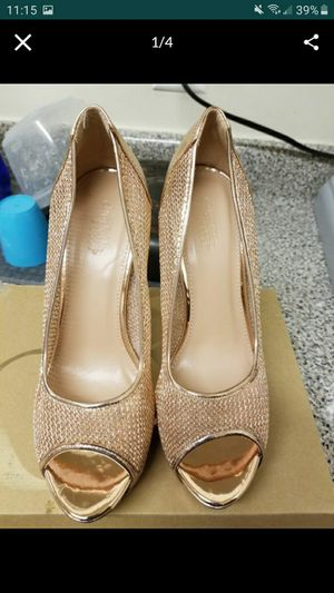Rose gold heels size 9 for Sale in Gaithersburg, MD