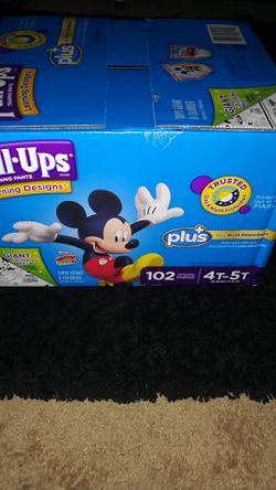 Huggies pull ups 4T -5T for Sale in Harleysville,  PA