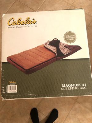 Cabela's Magnum 44 Sleeping Bag for Sale in Chula Vista, CA