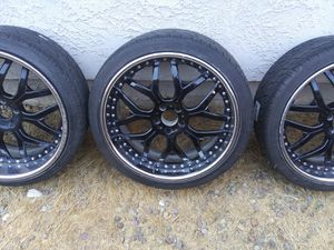 22' rims ( 3 piece ) for Sale in San Diego, CA