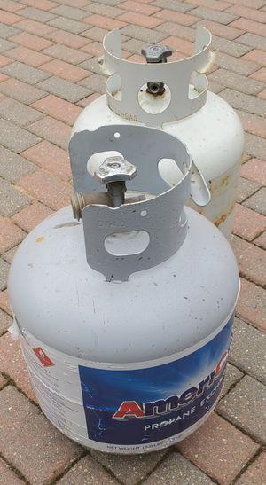 I have 2 brand new full barbecue propane tanks. $35 each firm for Sale in Morton Grove, IL