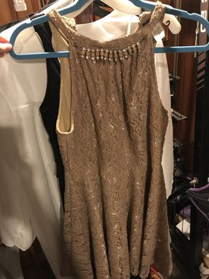 gold dress for Sale in Sharon Hill, PA