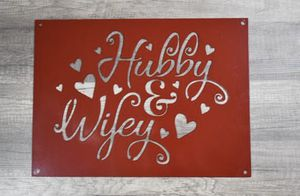 Metal marriage sign/home decor for Sale in Umatilla, OR