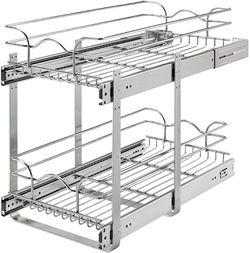 used rev-a-shelf two-tier kitchen cabinet organization for Sale in Marietta,  GA