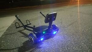 Hover cart with hover board for Sale in Norfolk, VA