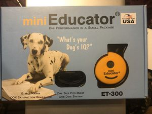 E-Collar (Mini Educator) for Dog Training for Sale in College Park, GA