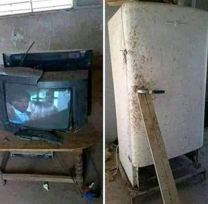 Samsung TV & Refrigerator for Sale in Dearborn, MI
