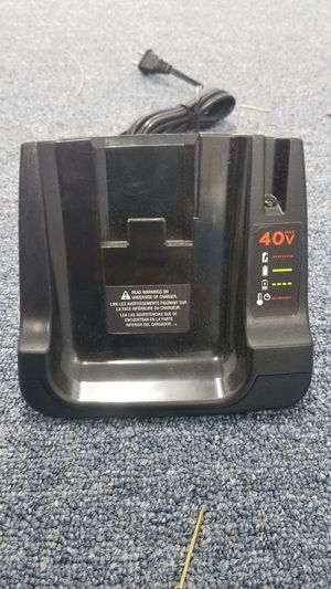 Black and Decker 40 V Ion Battery Charger for Sale in Kapolei, HI