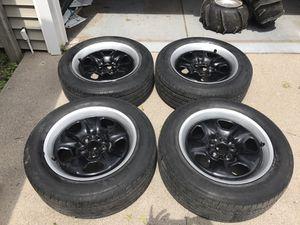 Camaro rims and Tires P245/55R18 for Sale in Grand Island, NE