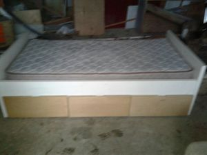 Single Storage Bed for Sale in Angie, LA