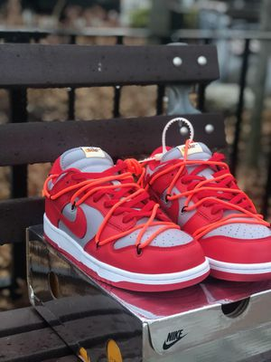 Offwhite dunks sz 8.5 w receipt no trades for Sale in Brooklyn, NY
