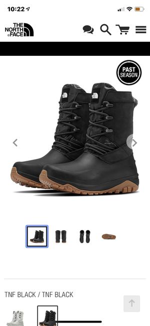 northface yukiona mid boot for Sale in Indianapolis, IN