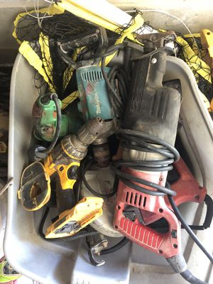 Assortment of power tools for Sale in Spring Hill, FL
