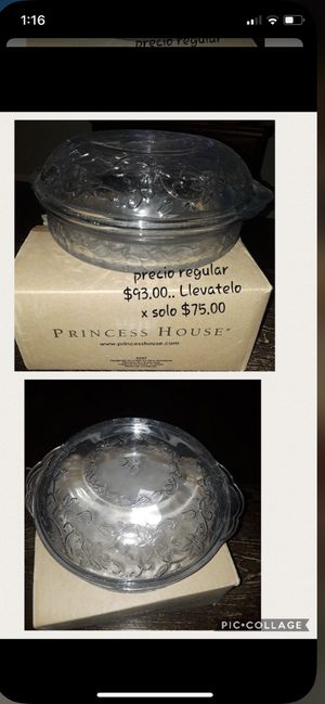Princess house glass for Sale in Federal Way, WA