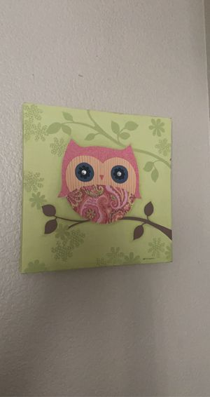 Owl canvas for Sale in NV, US