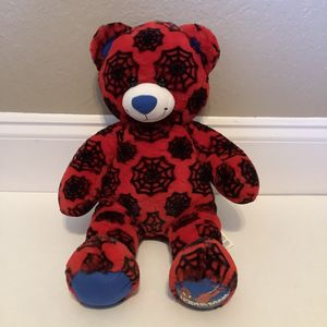 Build a Bear Spider-Man bear with costume for Sale in Austin, TX