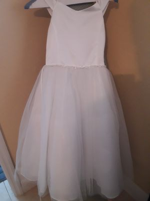 Beautiful Us Angels Flower Girl / Formal Event / 1st Communion Dress Size 10 Like New for Sale in Miami, FL