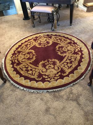 HOME DECORATORS COLLECTION TOULOUSE RUG BURGUNDY for Sale in Hayward, CA