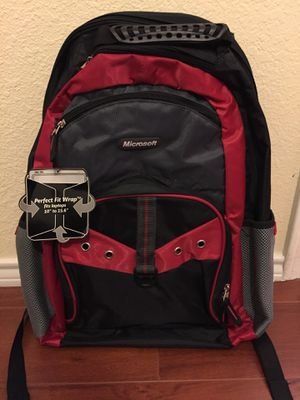"""Microsoft 10""""- 15.6"""" Laptop Backpack (Red) for Sale in Mansfield, TX"""