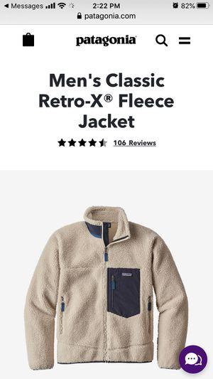 Patagonia Men's XL lined fleece for Sale in Berkeley, CA