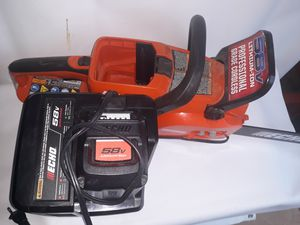 Echo 58v chainsaw for Sale in San Antonio, TX