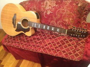 12 string takamine EG523SC-12 for Sale in Columbus, OH