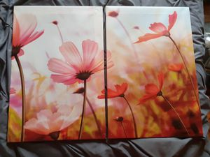 Wall canvas 2 pcs set for Sale in Lynnwood, WA