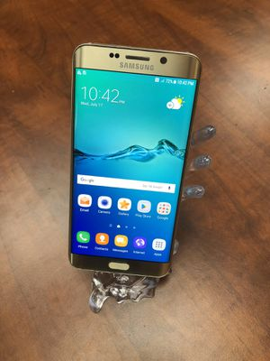 Samsung Galaxy s6 Edge Plus Unlocked Work Worldwide For any Carriers for Sale in Newark, CA