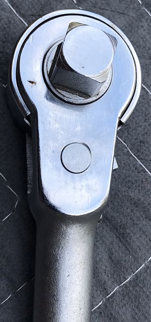 """Indestro Select #6470 1/2"""" Drive Open Head Ratchet, new old stock, perfect chrome. Approximately 10"""" long for Sale in Bradenton, FL"""
