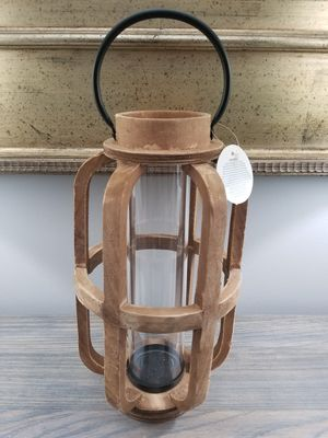 Home Decor Farmhouse Wood Candle Holder for Sale in Jackson Township, NJ