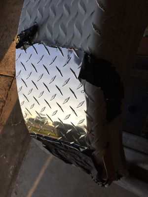 Diamond Plate Aluminum Trailer Fenders for Sale in Arlington, TX