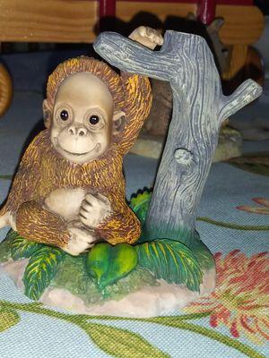 1996 Hamilton ORANGUTAN Figurine Protect Nature's Innocents Sculpture Collection for Sale in Palmdale, CA