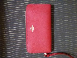 Coach new wallet red for Sale in Hoffman Estates, IL