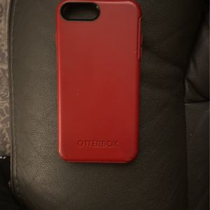 Red Otter box Case iPhone 7 Plus for Sale in Modesto, CA